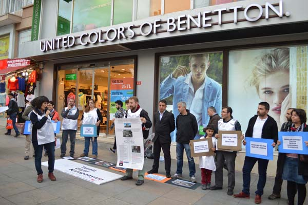 Benetton Eylemi